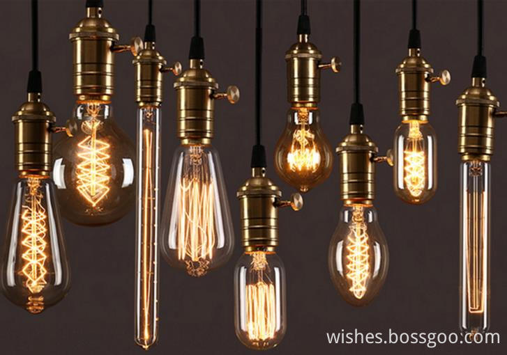 2017 Edison lamp LEDtungsten filament Retro light art decoration incandescent bulb