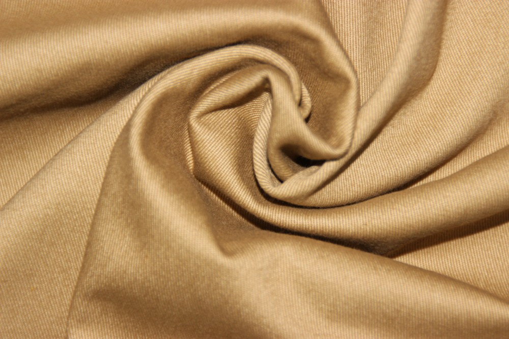 twill cotton dyed fabric