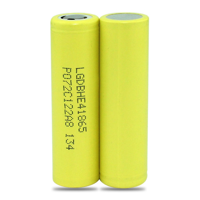 hot LG HE4 2500mAh e-cigarette battery