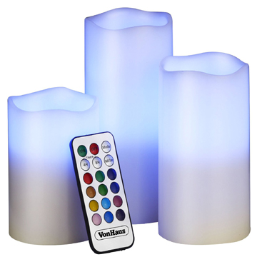 Intelligent scents LED candle