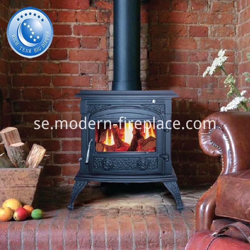 Decorative Custom Fireplace Wood Burning Showrooms