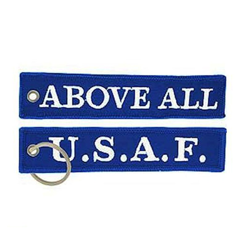 Usaf Above All Keychain