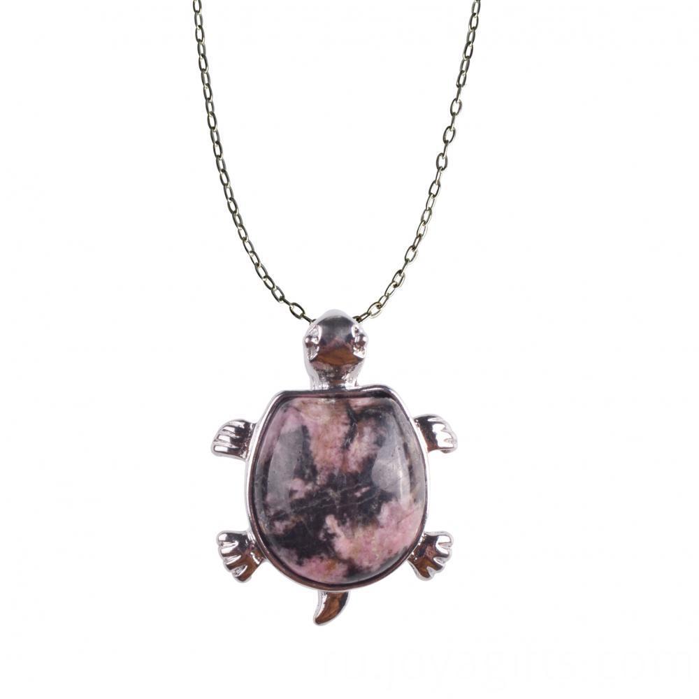 turtle gems necklace
