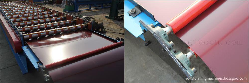 Trapezoidal metal sheet forming machine ZT25-200-1000 ZT25-200-1000 04