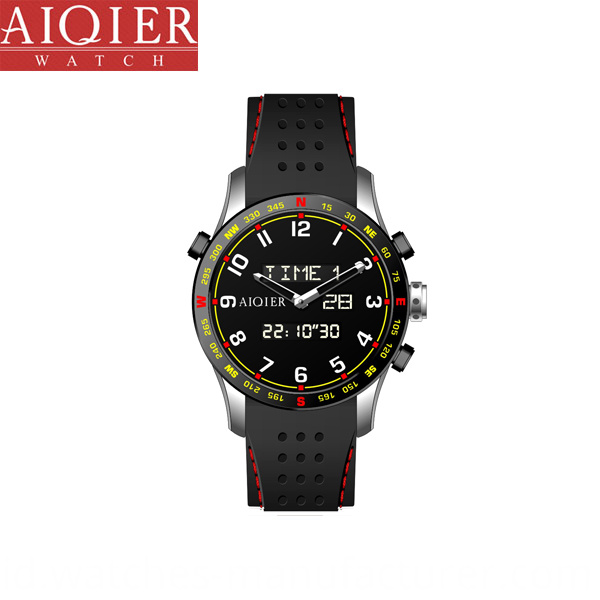 Analog Digital Sports Watch