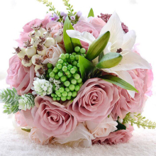 Wedding Bouquet Stunning Hand Held Wedding Accessories Rose Flowers