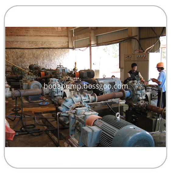 slurry pump  application in series