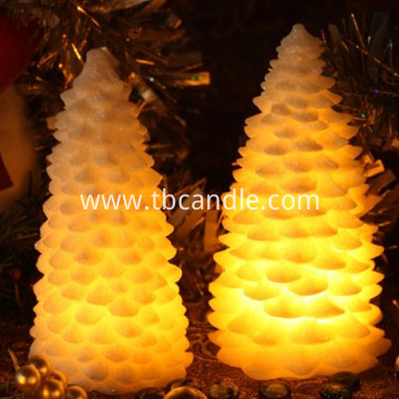 stunning colorful LED candle