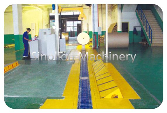 V-type slat conveyor