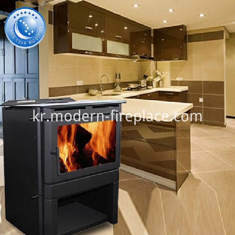 Country Wood Burning Fireplace Burner Furnace