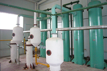 condenser for solvent oil extraction