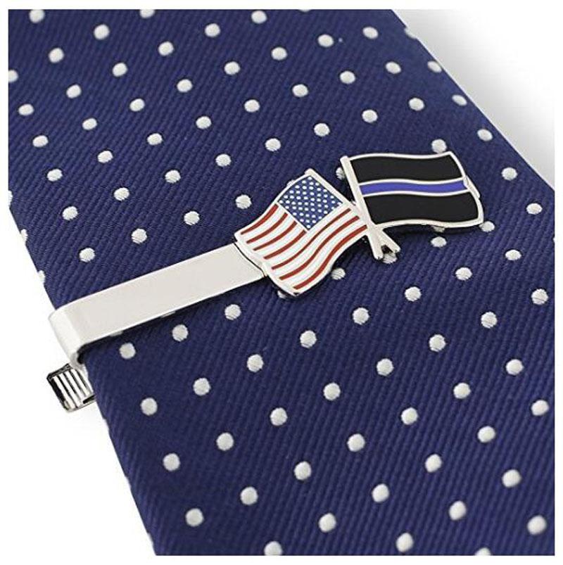 Silver Tone Tie Bar