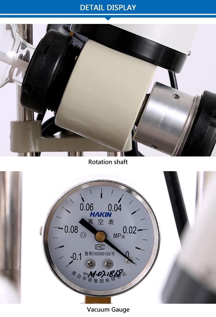 Rotary Evaporator with Vacuum Pump