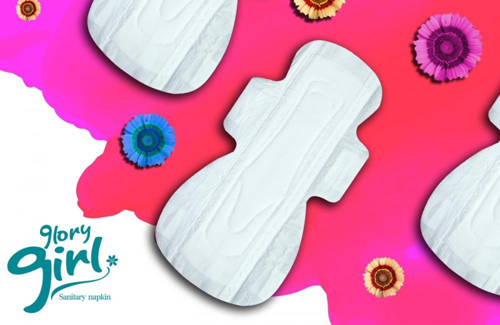 Hygiene products 100% cotton sanitary napkin brands