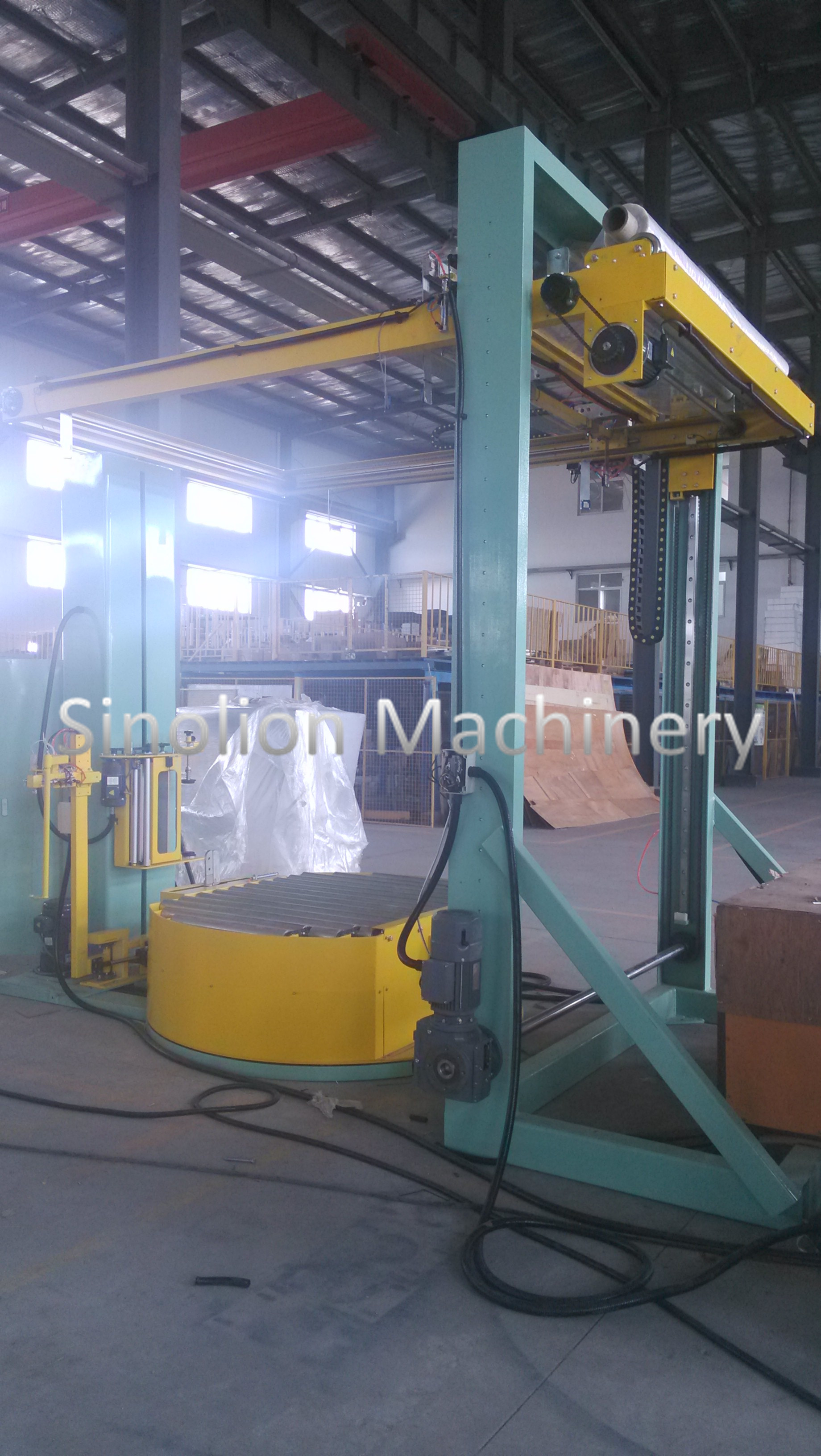 Fully Automatic Pallet Strapping Machine