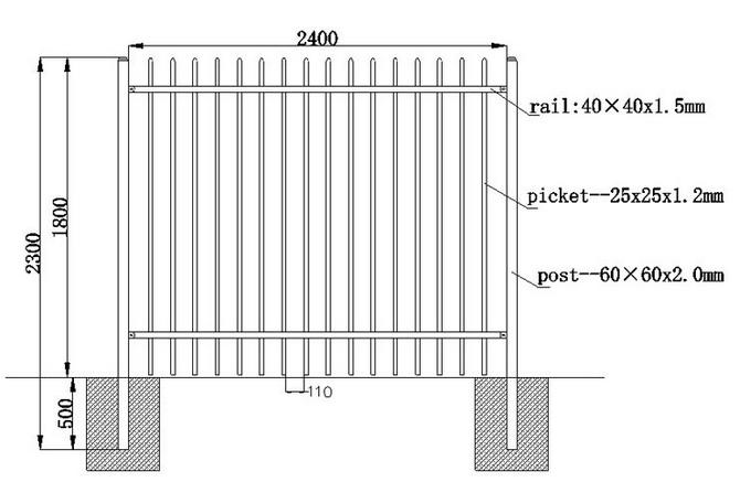 garrison fence pic
