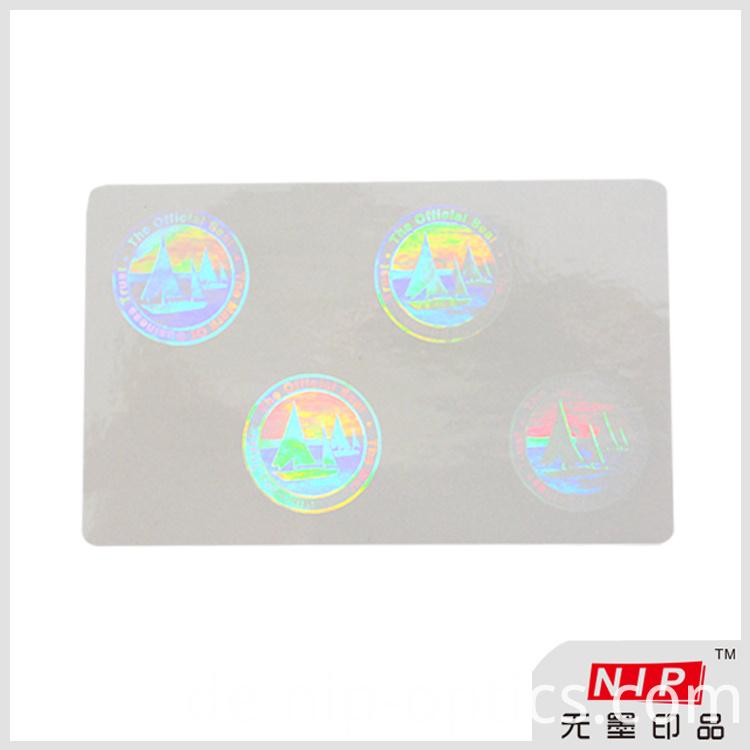 Hologram Round Labels