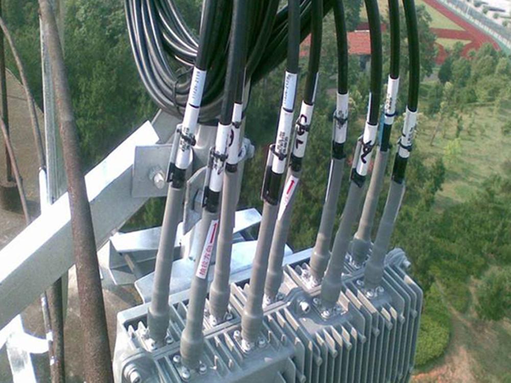 cold shrink tubes application