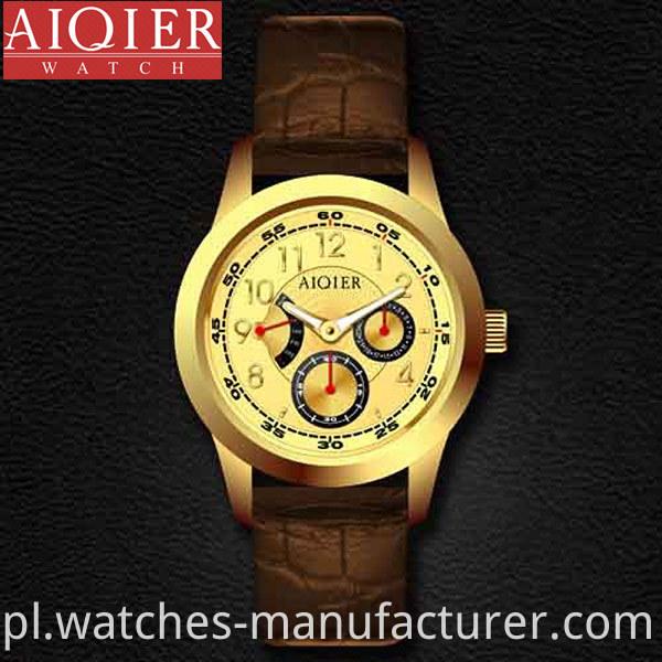 Men Stainless Steel Classic Wrist Watch