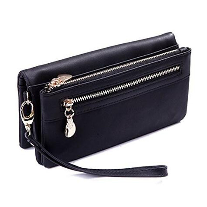Multi Function Zippered Wristlet Purse