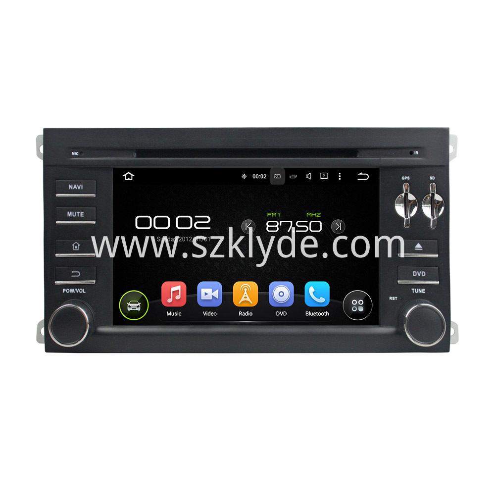 car dvd player for Cayenne 2003-2010