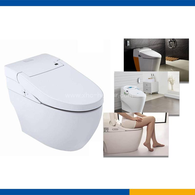 PTC heating film for toilet seat