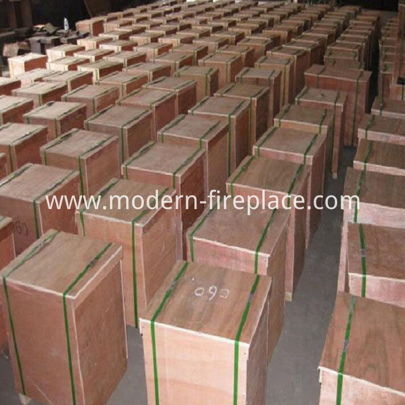 Wood Direct Vent  Kitchen Stove Packaging