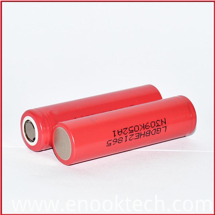 LG HE2 2500mAh  E -cigaratte CELL