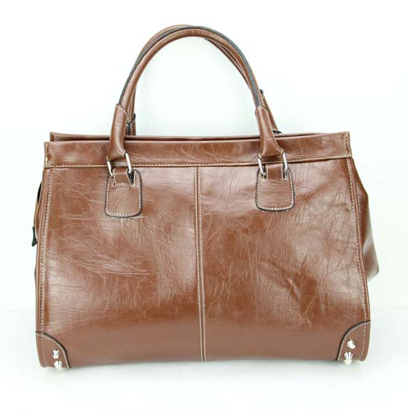 Leather Tote Handbag