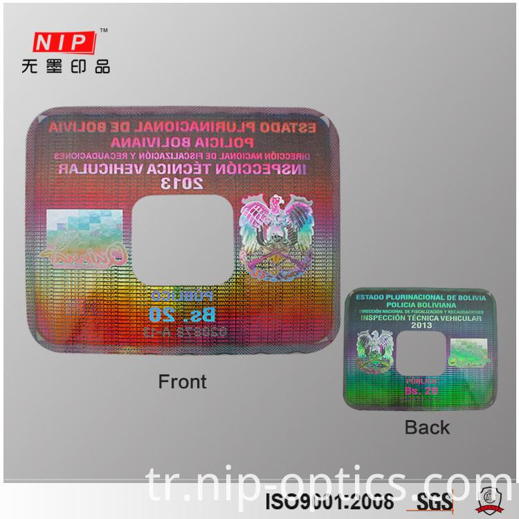 Id Card Hologram