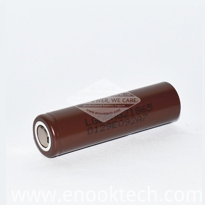 Brown Lghg2 18650 3000mAh 3.7v Battery