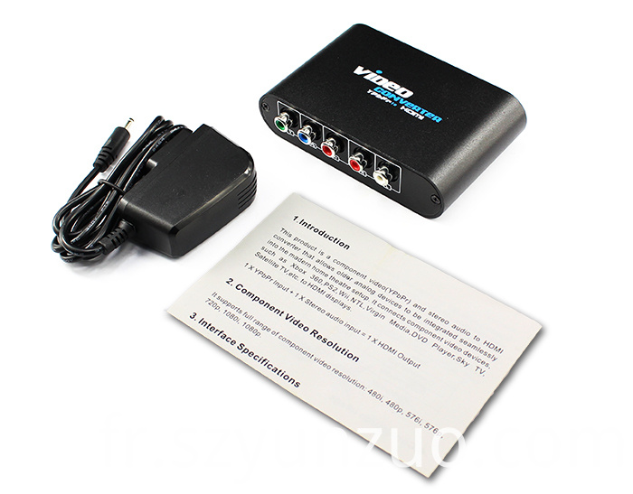 YPbPr to HDMI