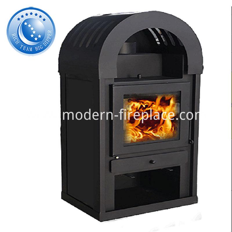 Modern Real Fire Prefab Fireplace With Corner Ideas