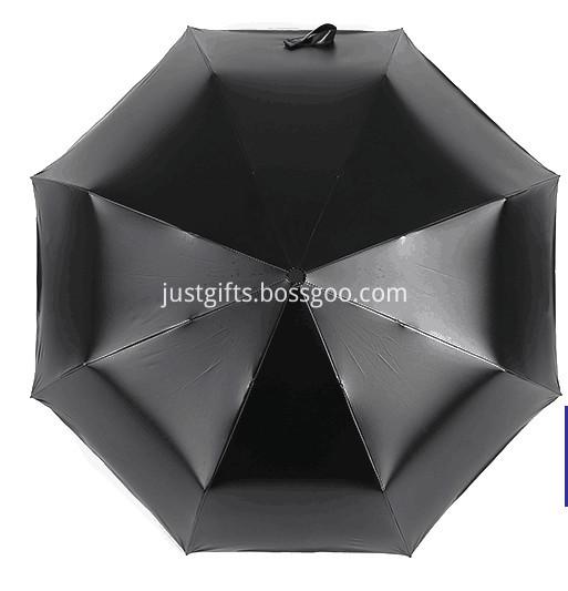 Promotional Full Printed Triple Folding Umbrella1