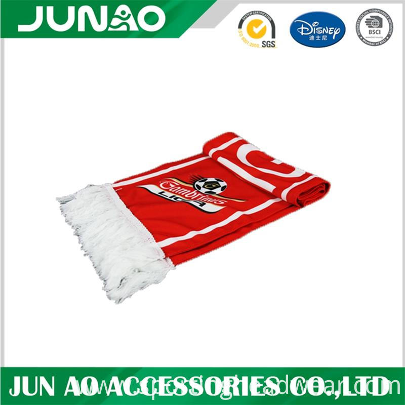 polyester fans scarf