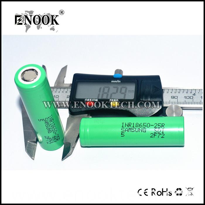 Samsung 25R Li-ion Battery