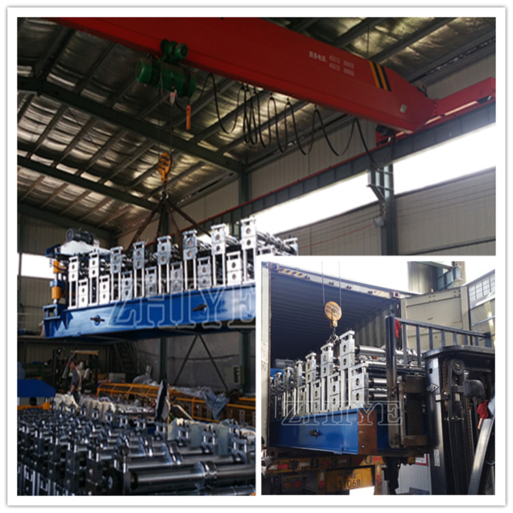 Double Layer Zinc Roof Sheeting Making Machine