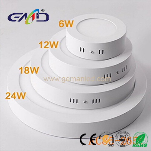 led round surface panel