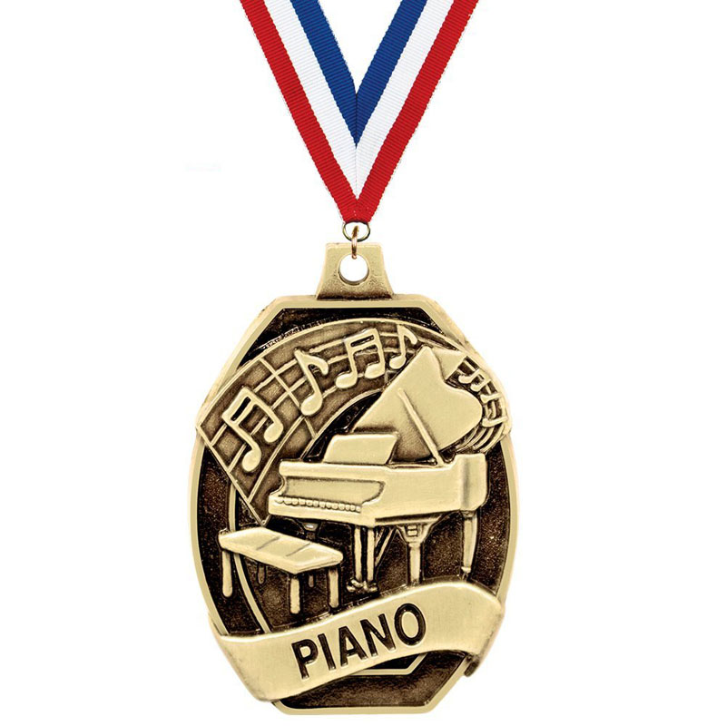 Piano Medals For Music
