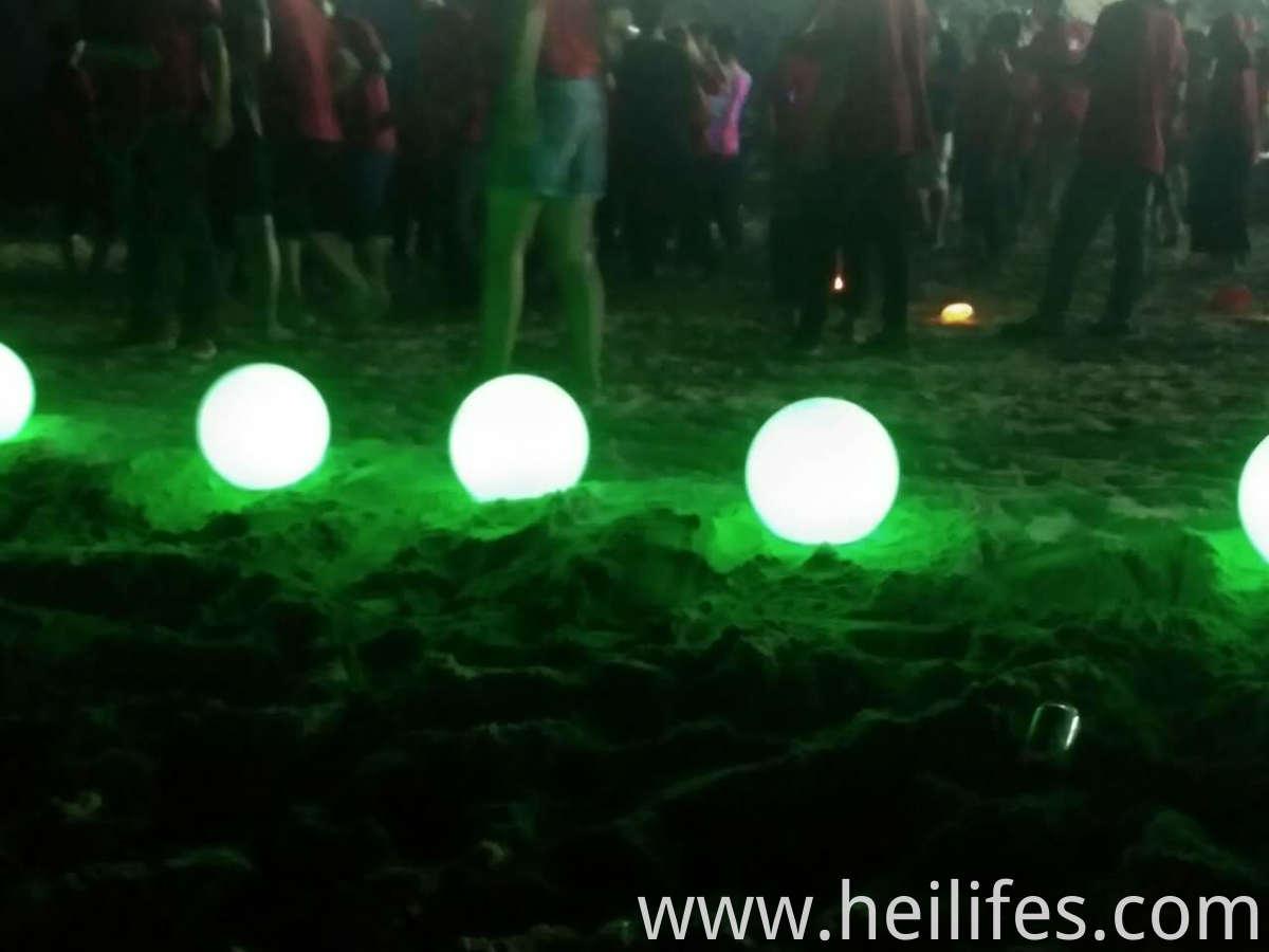 Sand beach led ball light