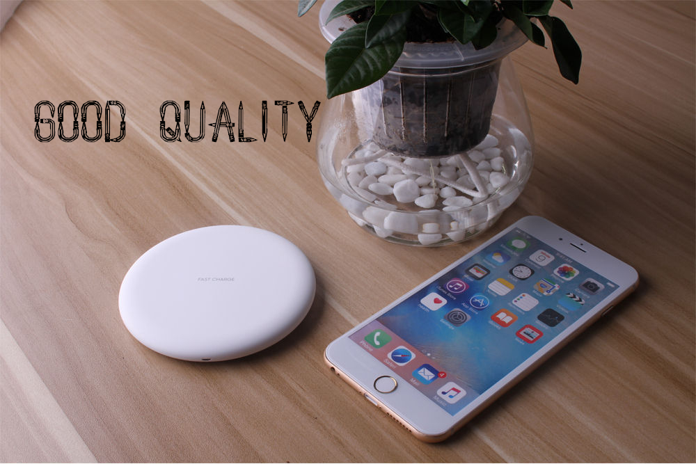 white wireless charger good quality