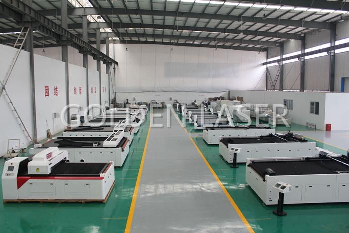 fabric laser cutting machine golden laser