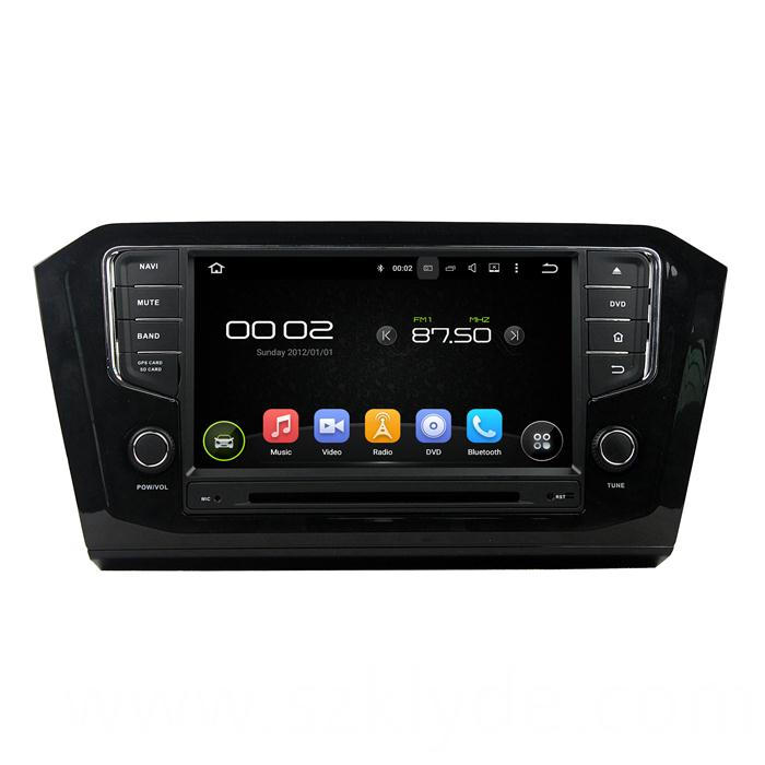 8 Inch Screen Car audio Player for PASSAT 2015