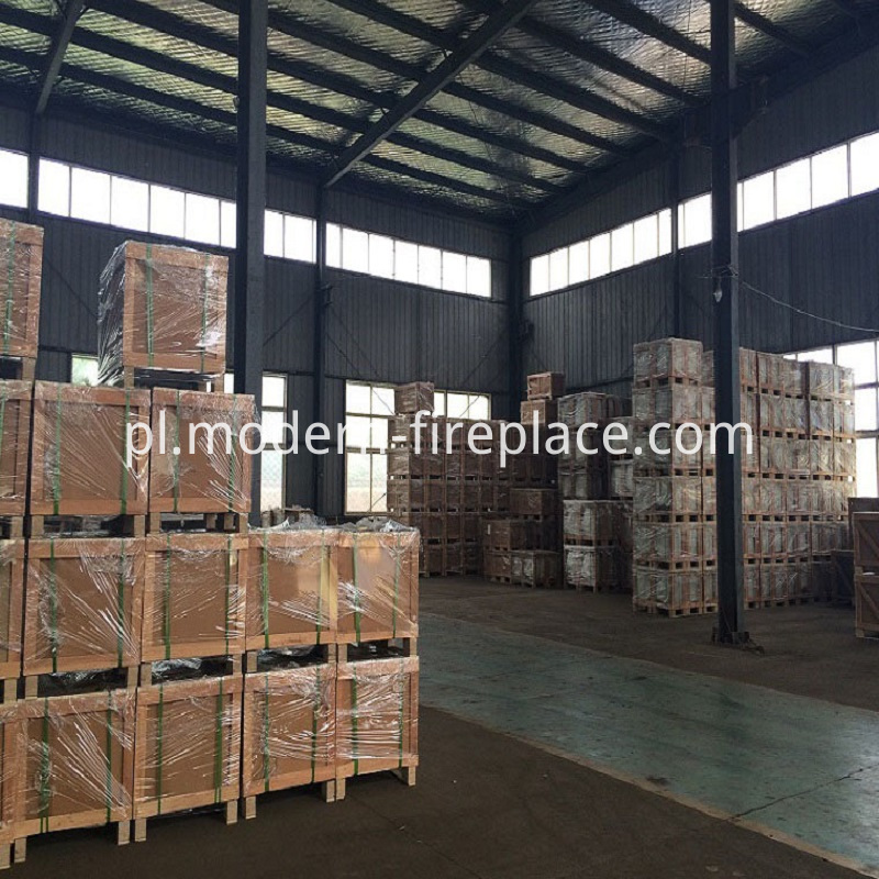 Wood Fireplace For Sale Packaging