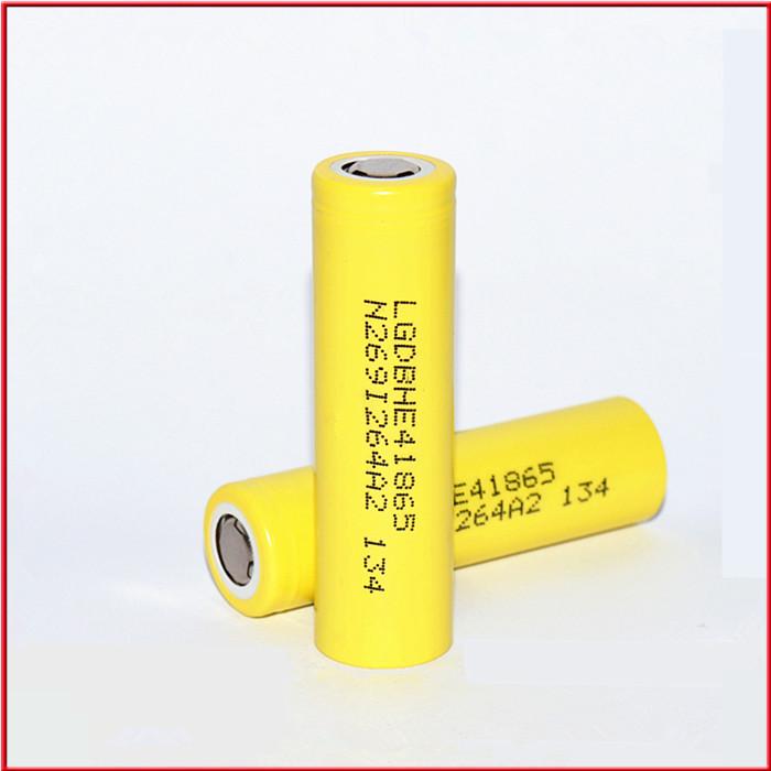 2017 18650 LG HE4 2500mAh 35A Battery