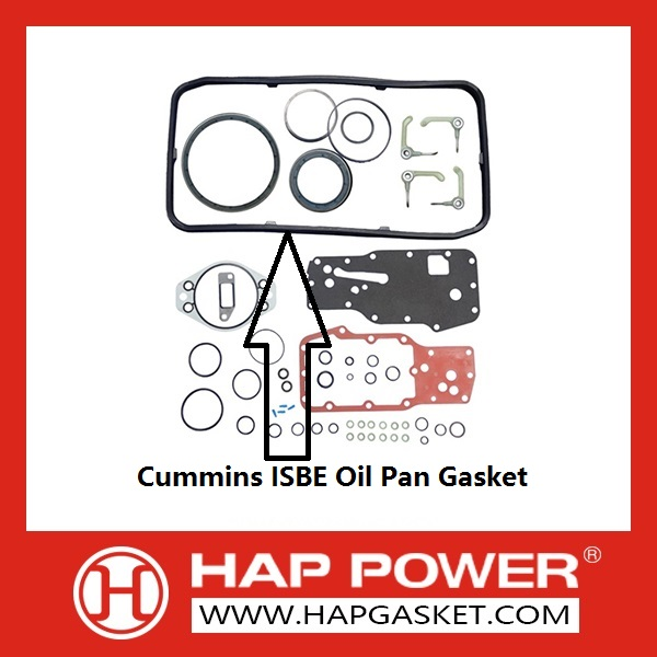 Cummins ISBE Oil Pan Gasket
