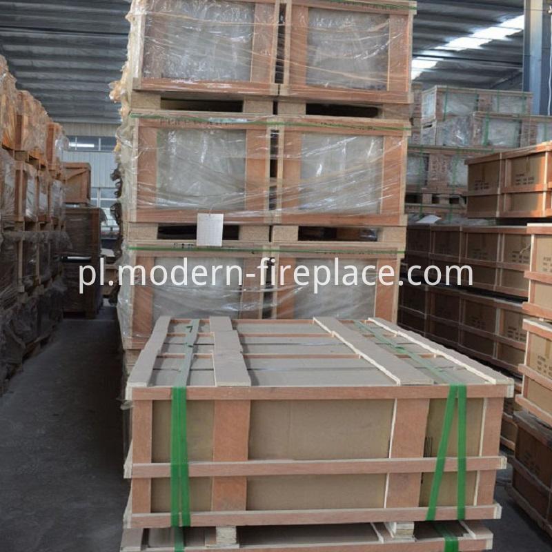 Factory Wood Burner Insert Packaging