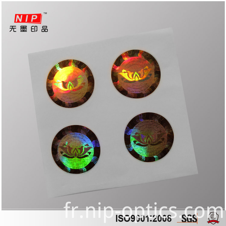 3D Hologram Sticker