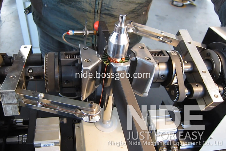 armature coil winding machine rotor coiling winder1