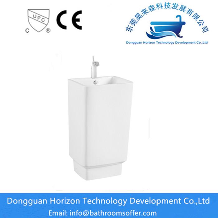 rectangular wash basin